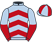Silk colours for FARMER JACK, trained by Seamus Mullins and owned by Mr Peter Partridge