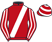 Silk colours for MILTONFIELD, trained by J. E. Mulhern, Ireland and owned by Mr J. C. Savage