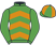 Silk colours for IL'ATHOU (FR), trained by Simon Sherwood and owned by Lady Thompson