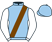 Silk colours for EKLAT DE RIRE (FR), trained by Henry de Bromhead, Ireland and owned by Mr P. Davies