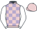 Silk colours for VOY POR USTEDES (FR), trained by Alan King and owned by Sir Robert Ogden