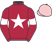 Silk colours for THUNDER AND ROSES (IRE), trained by M. F. Morris, Ireland and owned by Gigginstown House Stud