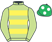 Silk colours for ARCH STANTON (IRE), trained by W. P. Mullins, Ireland and owned by Mr J. J. Brennan