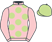 Silk colours for BAPAUME (FR), trained by W. P. Mullins, Ireland and owned by Mrs S. Ricci