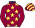 Silk colours for MONALEE (IRE), trained by Henry de Bromhead, Ireland and owned by Mr Barry Maloney