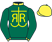 Silk colours for FLYING ANGEL (IRE), trained by Nigel Twiston-Davies and owned by Mr R. J. Rexton