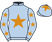 Silk colours for UN DE SCEAUX (FR), trained by W. P. Mullins, Ireland and owned by E. O'Connell