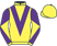 Silk colours for ADMIRAL'S SECRET, trained by Victor Dartnall and owned by The Whacko Partnership