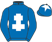 Silk colours for RAZ DE MAREE (FR), trained by Gavin Patrick Cromwell, Ireland and owned by James J. Swan