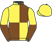 Silk colours for BURNING VICTORY (FR), trained by W. P. Mullins, Ireland and owned by Mrs Audrey Turley
