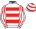 Silk colours for ARCTIC SKIPPER (IRE), trained by Vincent Laurence Halley, Ireland and owned by Mr L. Halley