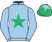 Silk colours for HENRYVILLE, trained by Harry Fry and owned by R P B Michaelson & E M Thornton