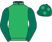 Silk colours for FOOTPAD (FR), trained by W. P. Mullins, Ireland and owned by Mr Simon Munir/Mr Isaac Souede