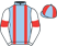 Silk colours for SKANDIBURG (FR), trained by Olly Murphy and owned by Kate & Andrew Brooks