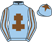 Silk colours for MCGROARTY (IRE), trained by Dr Richard Newland and owned by Chris Stedman & Mark Albon