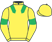 Silk colours for HAPPYGOLUCKY (IRE), trained by Kim Bailey and owned by Lady Dulverton