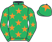 Silk colours for MS PARFOIS (IRE), trained by Anthony Honeyball and owned by Mr M. R. Chapman