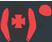 Black, red maltese cross and sleeves, red cap, black peak}