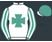 White, emerald maltese cross, emerald and white striped sleeves, emerald cap, white peak}