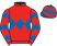 Silk colours for CLONDAW CASTLE (IRE), trained by Tom George and owned by J French, D McDermott, S Nelson, T Syder