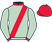 Silk colours for HONEST VIC (IRE), trained by Henry Daly and owned by Carole Daly & Partners