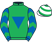 Silk colours for RONALD PUMP, trained by Matthew J. Smith, Ireland and owned by Laois Limerick Syndicate