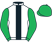 Silk colours for VINNDICATION (IRE), trained by Kim Bailey and owned by Moremoneythan