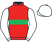 Silk colours for OCEAN COVE (IRE), trained by Fergal O'Brien and owned by The FOB Racing Partnership
