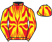 Silk colours for DUHALLOW TORNADO (IRE), trained by O. J. Pimlott and owned by All For The Craic Partnership
