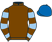 Silk colours for SOME CAN DANCE (IRE), trained by Samuel Drinkwater and owned by Richard Bailey & Mr D P Drinkwater