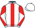 Silk colours for GOSHEN (FR), trained by Gary Moore and owned by Mr Steven Packham