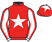 Silk colours for THOMAS MACDONAGH, trained by Jamie Snowden and owned by Sperling, Coomes, Davies, Hague, Collins