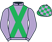 Silk colours for FLORESSA (FR), trained by Nicky Henderson and owned by Just Four Men