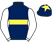 Silk colours for FRANCO DE PORT (FR), trained by W. P. Mullins, Ireland and owned by Bruton Street V