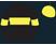 Black, dayglo yellow hoop, armbands and cap, black peak}
