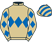Silk colours for CAPTAIN GUINNESS (IRE), trained by Henry de Bromhead, Ireland and owned by Declan Landy