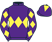 Silk colours for LORD DU MESNIL (FR), trained by Richard Hobson and owned by Mr Paul Porter & Mike & Mandy Smith