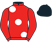 Silk colours for YELLOW TIGER (FR), trained by David Loughnane and owned by K Sohi & K Samra
