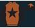 Terracotta, black star and sleeves , black cap, terracotta star}