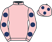 The Troubled Pink Partnership silks