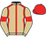 Mr J Blackburn & Imperial Racing P'ship silks