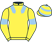 Mrs C Barclay & Ben Haslam Racing Synd silks