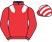 Hyperpaint Syndicate (Nom: Mr J T Peter) silks