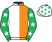 Shamrock Thoroughbreds/Miss Susan Barton silks